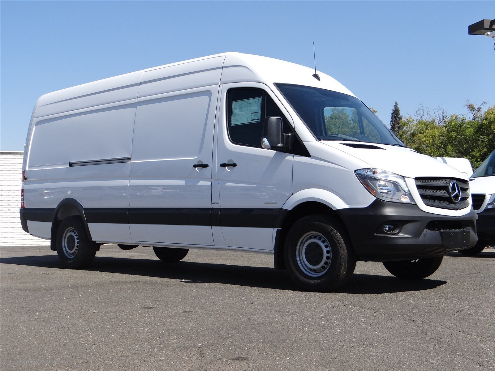 New 2016 mercedes benz sprinter cargo vans full size cargo for Mercedes benz sacramento rocklin