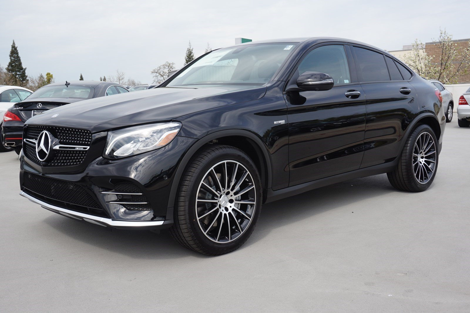 New 2017 mercedes benz glc amg glc43 sport utility in for Mercedes benz sacramento rocklin