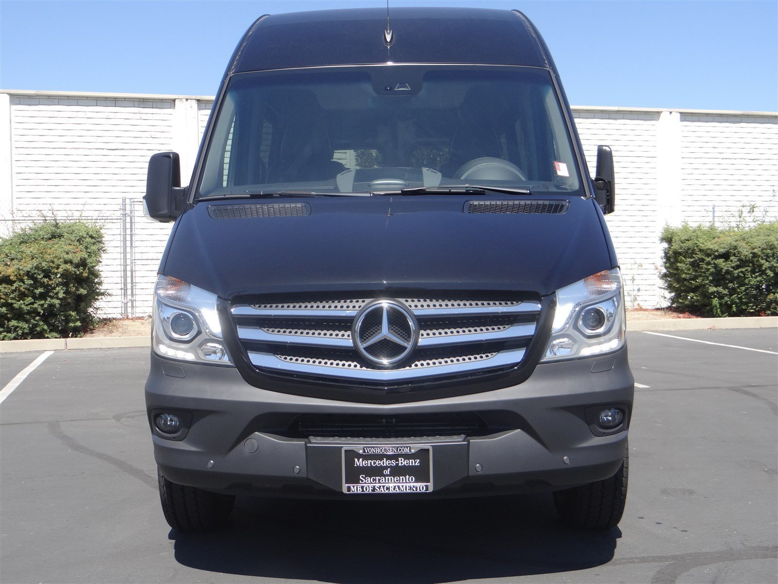 New 2016 mercedes benz sprinter passenger van m2pv144 full for Mercedes benz sacramento rocklin
